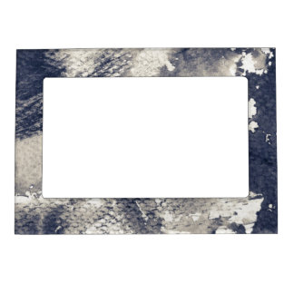 Abstract grunge background. Watercolor, ink Magnetic Picture Frame