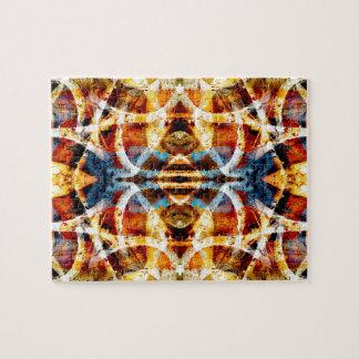 Abstract grunge graffiti pattern jigsaw puzzle