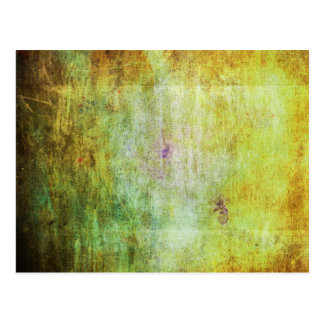 Abstract Grunge Scratched Texture Postcard