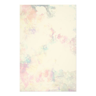 Abstract grunge texture with watercolor paint 2 custom stationery