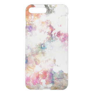 Abstract grunge texture with watercolor paint 2 iPhone 8 plus/7 plus case
