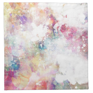 Abstract grunge texture with watercolor paint 2 napkin