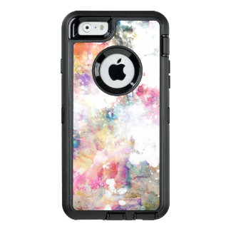 Abstract grunge texture with watercolor paint 2 OtterBox iPhone 6/6s case