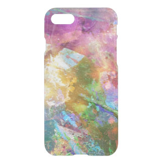 Abstract grunge texture with watercolor paint 3 iPhone 8/7 case