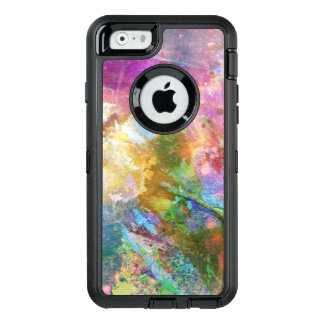 Abstract grunge texture with watercolor paint 3 OtterBox iPhone 6/6s case