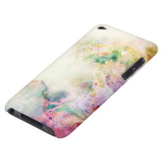Abstract grunge texture with watercolor paint barely there iPod covers
