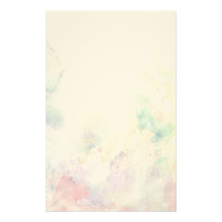 Abstract grunge texture with watercolor paint customised stationery