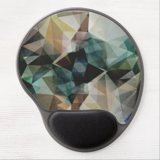 Abstract Grunge Triangles Gel Mouse Mat