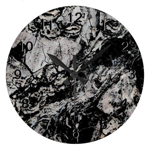 Abstract Grungy Design. Wallclocks