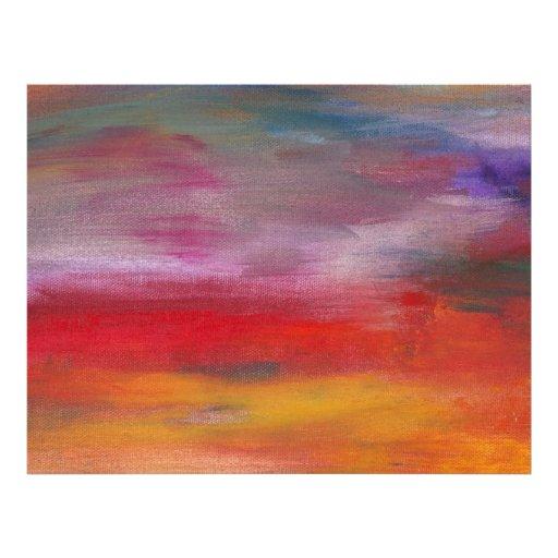 Abstract - Guash & Acrylic - Pleasant Dreams Flyers