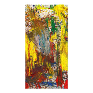 Abstract - Guash - Morning Joy Photo Cards