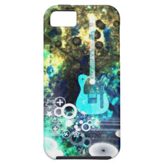 Abstract Guitar Art iPhone 5 Covers