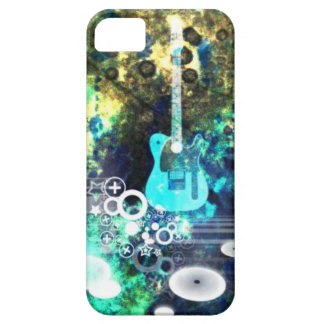 Abstract Guitar Art iPhone 5 Cover