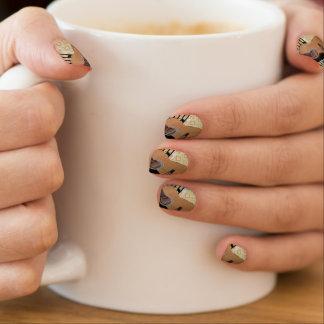 Abstract Guitar Minx ® Nail Art