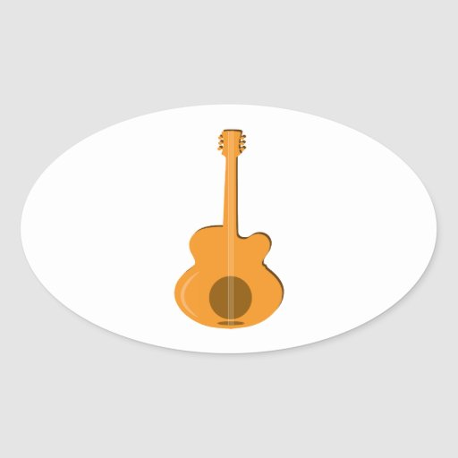 Abstract Guitar Stickers