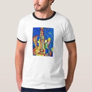 Abstract Guitar T-Shirt by ValAries