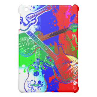Abstract Guitars Collage iPad Mini Covers
