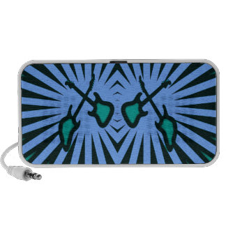 Abstract Guitars iPod Speakers