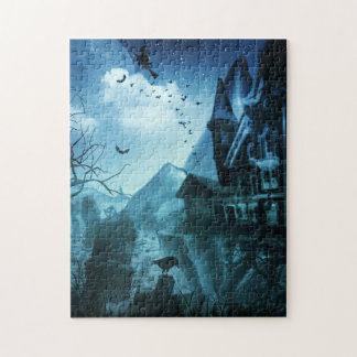 Abstract Halloween Backgrounds Jigsaw Puzzle