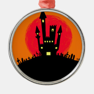 Abstract Halloween. Christmas Ornament