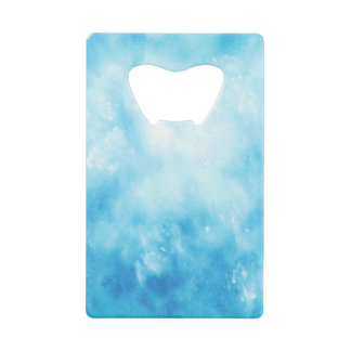 Abstract Hand Drawn Watercolor Background: Blue