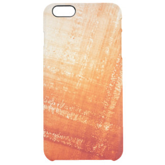 Abstract hand painted background clear iPhone 6 plus case