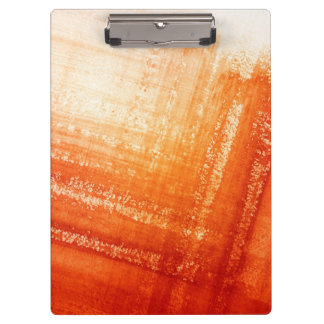 Abstract hand painted background clipboard