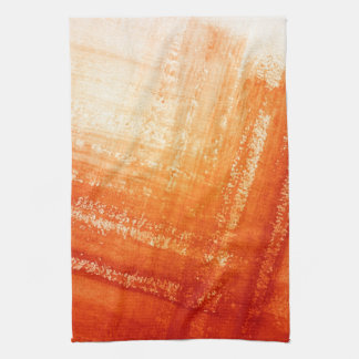 Abstract hand painted background tea towel