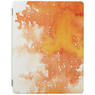 Abstract hand painted watercolor background. 2 2 iPad cover