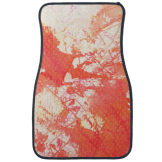 Abstract hand painted watercolor background. 2 car mat