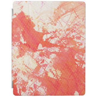 Abstract hand painted watercolor background. 2 iPad cover