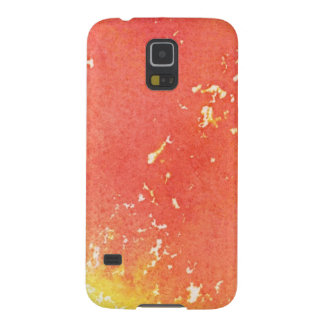 Abstract hand painted watercolor background. 3 cases for galaxy s5