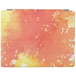 Abstract hand painted watercolor background. 3 iPad cover