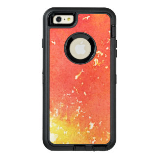Abstract hand painted watercolor background. OtterBox iPhone 6/6s plus case