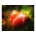 Abstract Heart Art Design 11.5 Cm X 14 Cm Flyer