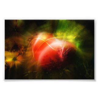 Abstract Heart Art Design Photo Print