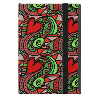 Abstract Heart Art iPad Mini Case