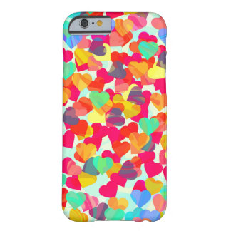 Abstract hearts for Valentine's Day Barely There iPhone 6 Case