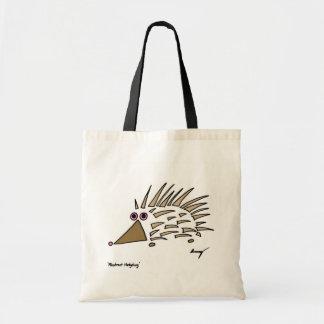 Abstract Hedgehog Tote Bag