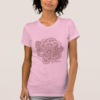 Abstract Henna Mehndi Design T-Shirt