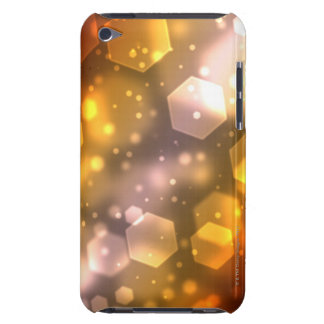 Abstract Hexagon Barely There iPod Cases