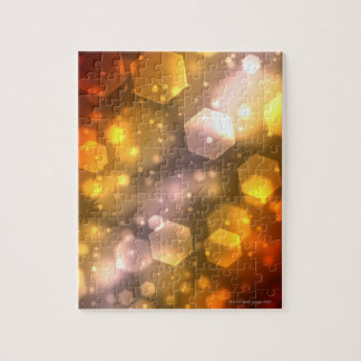 Abstract Hexagon Jigsaw Puzzle