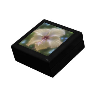 Abstract Hibiscus Flower Gift Box