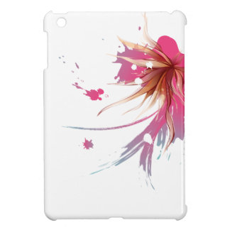 Abstract Hibiscus Flower Cover For The iPad Mini