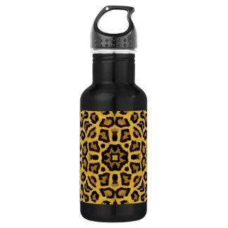 Abstract Hipster Cheetah Animal Print 532 Ml Water Bottle