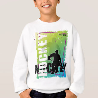 Abstract Hockey Boys Sweatshirt