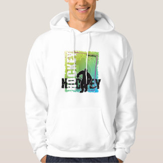 Abstract Hockey (male) Hoodie