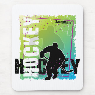 Abstract Hockey (male) Mouse Mat