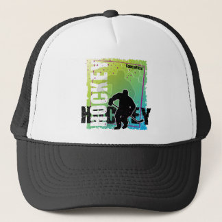 Abstract Hockey (male) Trucker Hat