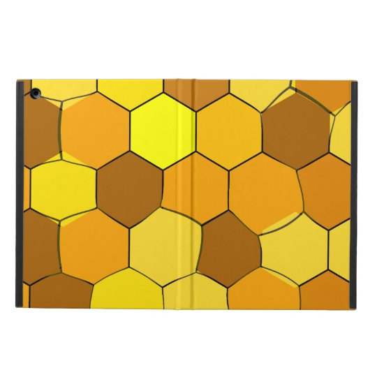 Abstract Honeycomb iPad Case